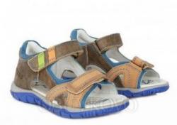 bf2fc69bda30a DD STEP celokožené letné sandále K330-4000A chocolate