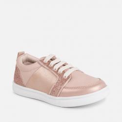 Prechodná dievčenská obuv MAYORAL 45015-055 nude