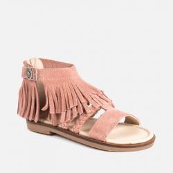 7d1db4b2fe5dc MAYORAL strapcové celokožené sandále 43055-054 rose