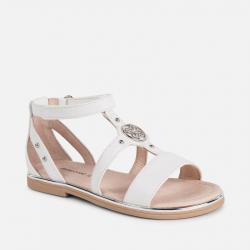 MAYORAL ltné sandále MAYORAL 43047-074 white