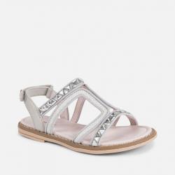 MAYORAL strieborné letné sandále 43041-026 Silver