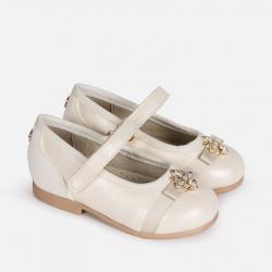 Balerínky dievčenské MAYORAL 41022-068 pearl
