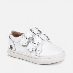 1131d9d3289d2 Prechodná dievčenská obuv MAYORAL 41004-025 white