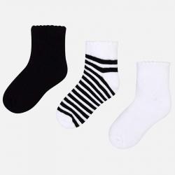 MAYORAL detské ponožky 10579-036 Black
