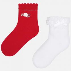 Dievčenské ponožky MAYORAL 10576-087 Red
