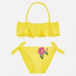 MAYORAL dievčenské dvojdielne plavky 6706-044 Yellow