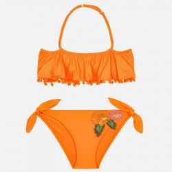 MAYORAL dievčenské dvojdielne plavky 6706-043 Tangerine