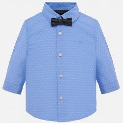 MAYORAL chlapčenská košeľa 1132-091 light blue