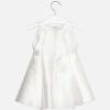 Elegantné biele taftové šaty MAYORAL 3928-036 Natural