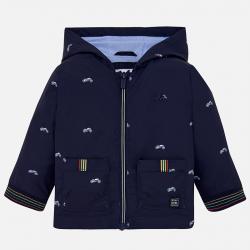 Chlapčenský  kabát  na zips MAYORAL 1438-029 blue