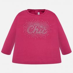 MAYORAL  dievčenské  tričko 116-051 fuxia