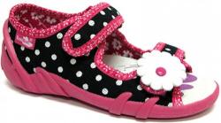 Dievčenské papučky  sandálky RENBUT 23-378 Maxi bodkované