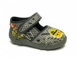 Chlapčenské papučky RENBUT 13-112 sivo žlté