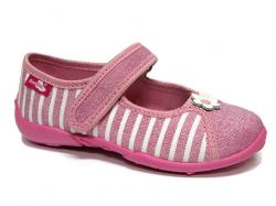 Dievčenské papučky balerínky RENBUT 33-415 pink