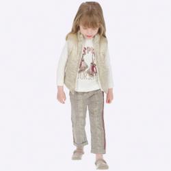MAYORAL  dievčenské nohavice 4504-095maron