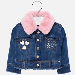 MAYORAL dievčenský riflový kabát 2425-079 basic