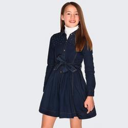 MAYORAL dievčenská tunika-šaty 7935-005 denim