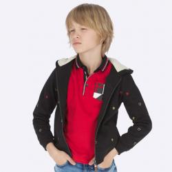 Chlapčenská mikina na zips MAYORAL 7452-036 black