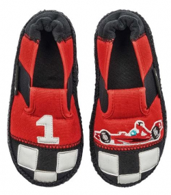 NANGA barefoot chlapčenské papuče FORMULA
