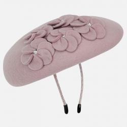 MAYORAL dievčenská čelenka s baretkou 10722-089 Nude