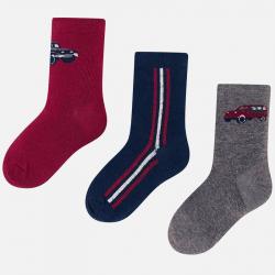 MAYORAL chlapčenské ponožky 3 páry 10678-049