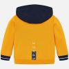 MAYORAL chlapčenská mikina žltá 4455-020 Caramel
