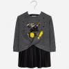 MAYORAL dievčenské šaty 4941-076 Black