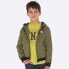 MAYORAL chlapčenská mikina s kapucňou 7451-073 Bayleaf
