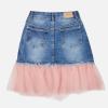 Rifľová sukňa s tylovým volánikom MAYORAL 7910-067