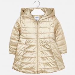 Dievčenský prešívaný kabát MAYORAL 4416-037 Golden