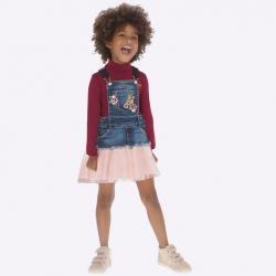 Dievčenská sukňa na traky MAYORAL 4913-022 Crystal