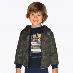 MAYORAL chlapčenský obojstranný kabát 4438-040 Moss