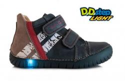 Chlapčenská svietiaca obuv D.D.STEP DD 050-7M royal blue