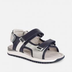 MAYORAL športové chlapčenské sandále 45109-035 Light Gray