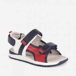 MAYORAL športové chlapčenské sandále 45109-034 Red