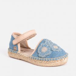 MAYORAL dievčenské rifľové baleríny 45069-075 Jeans