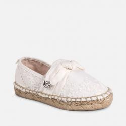 MAYORAL dievčenské espadrilly 45067-032 White