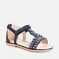 Dievčenské letné sandále MAYORAL 45051-046 Navy