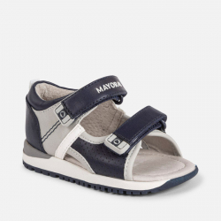 MAYORAL chlapčenské sandále 41078-052 Light Gray