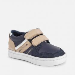Chlapčenská celokožená obuv MAYORAL41052-093 Navy