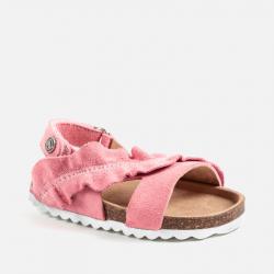 MAYORAL detské korkové sandále 41042-022 Salmon