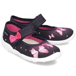 Dievčenská textilná obuv VIGGAMI SARA druk
