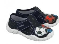 Chlapčenské textilné papuče VIGGSMI OLEK
