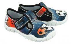 Chlapčenské textilné papuče VIGGAMI GOL