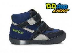 Chlapčenská svietiaca obuv D.D.STEP  050-6BL bermuda blue