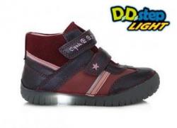 Svietiaca dievčenská obuv D.D.STEP 050-8BL royal blue