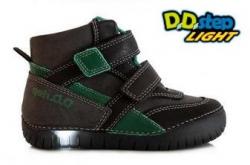 Chlapčenská svietiaca obuv D.D.STEP DD 050-6L BLACK