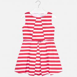MAYORAL  dievčenské letné  šaty 6927-068 coral