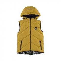 Chlapčenská  vesta s kapucňou MAYORAL 7315-095 honey