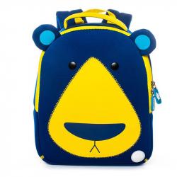Chlapčenský batoh s 3D motívom PSÍK modrý